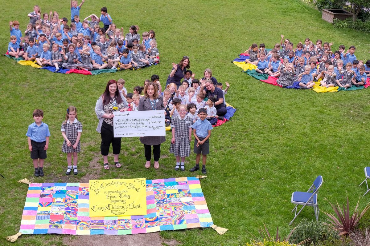 St Christopher's School supports Casey Ward